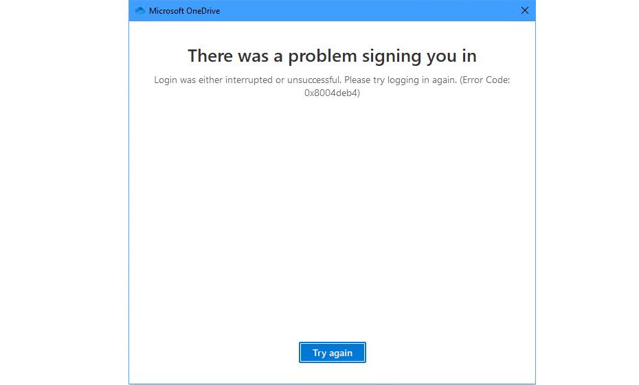 0x8004deb4 Error Code Fix Windows