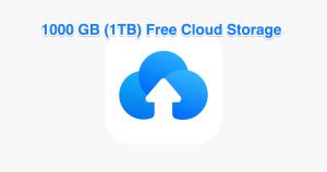 Whooping! 1 TB (Terabytes) Free Cloud Storage | TeraBox 1024 GB Lifetime