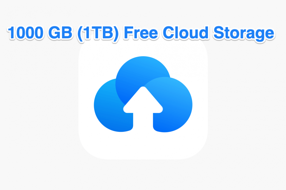 1 TB Free Cloud Storage for Free