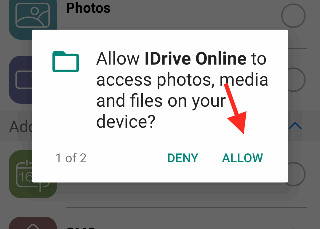 Allow Gallery Permissions