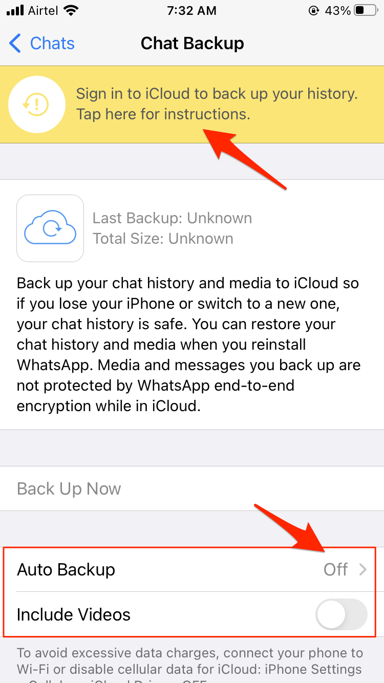 Backup-Chat-Now