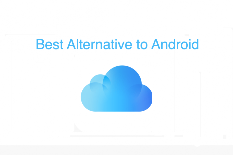 Best iCloud Alternative for Android