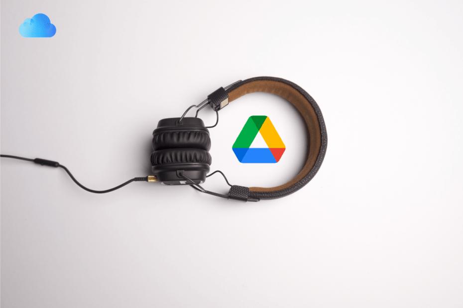 Change Audio Tracks Google Drive