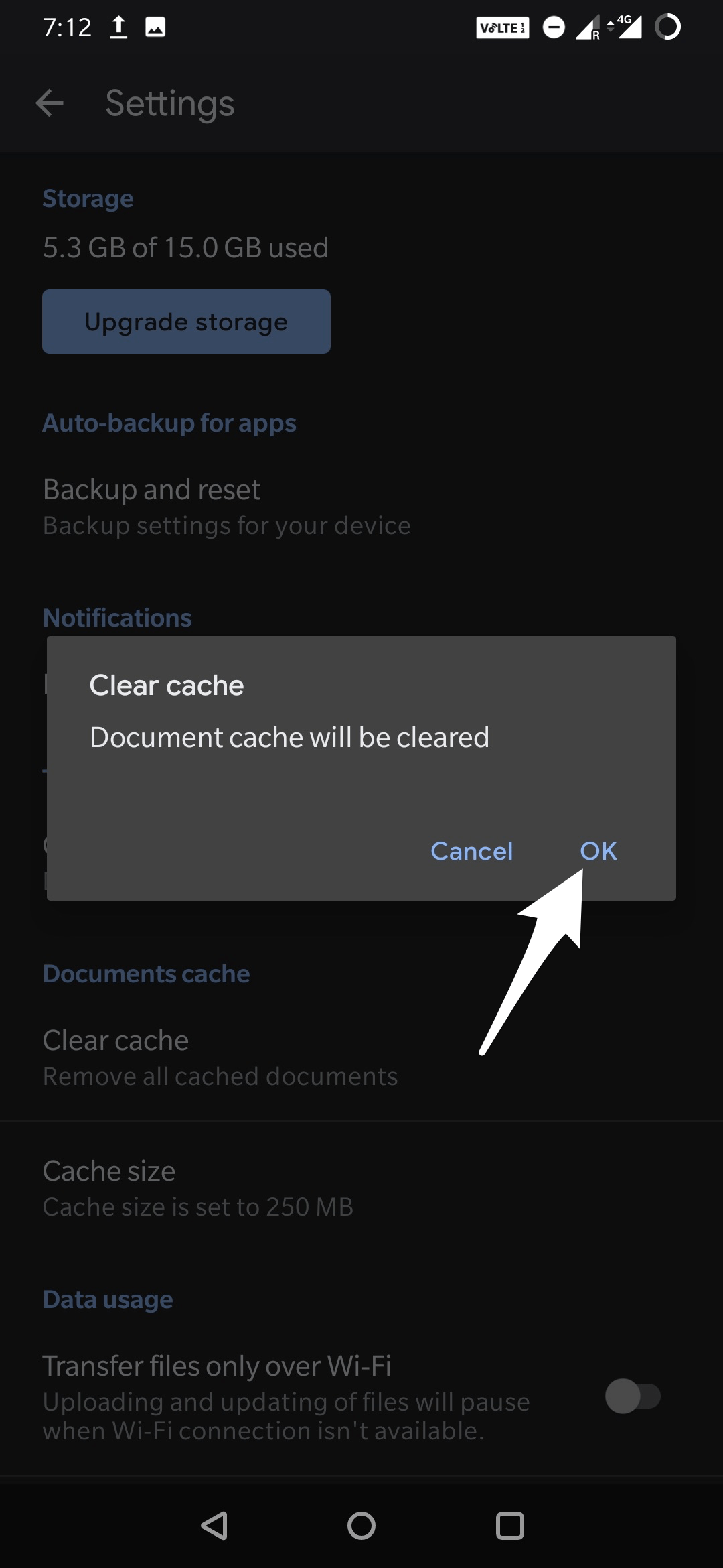Confirm_Deletion_of_Document_Cache