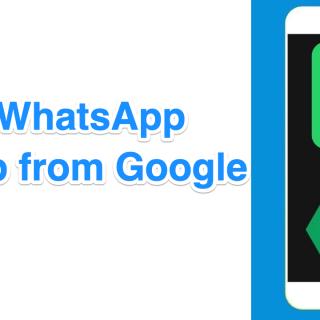 Delete WhatsApp Backup from Google Drive