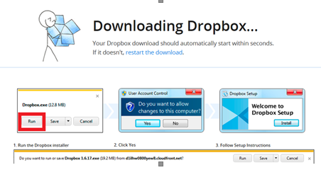 Download DropBox for Windows
