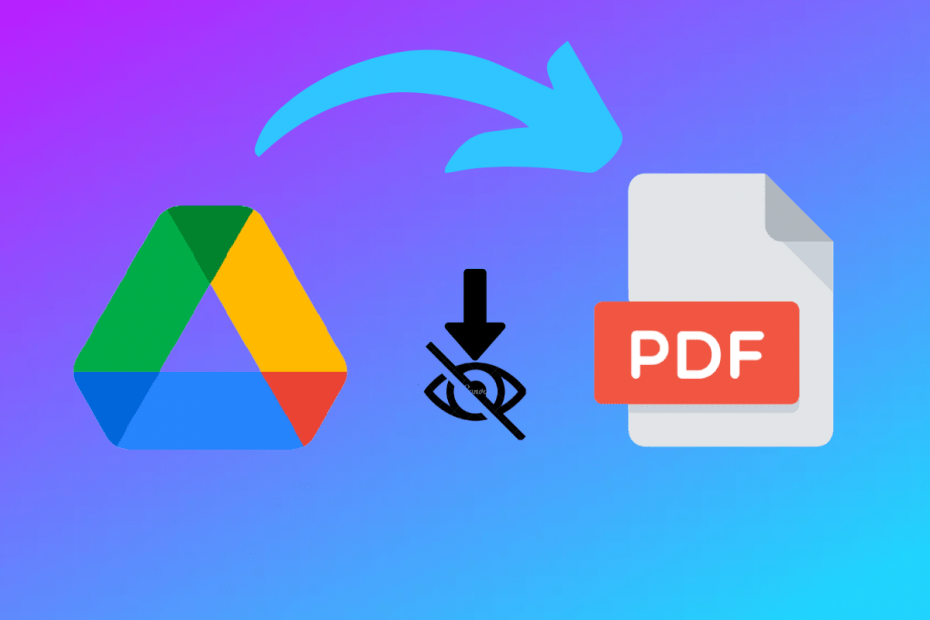 Download View Only Protected PDF Google Drive