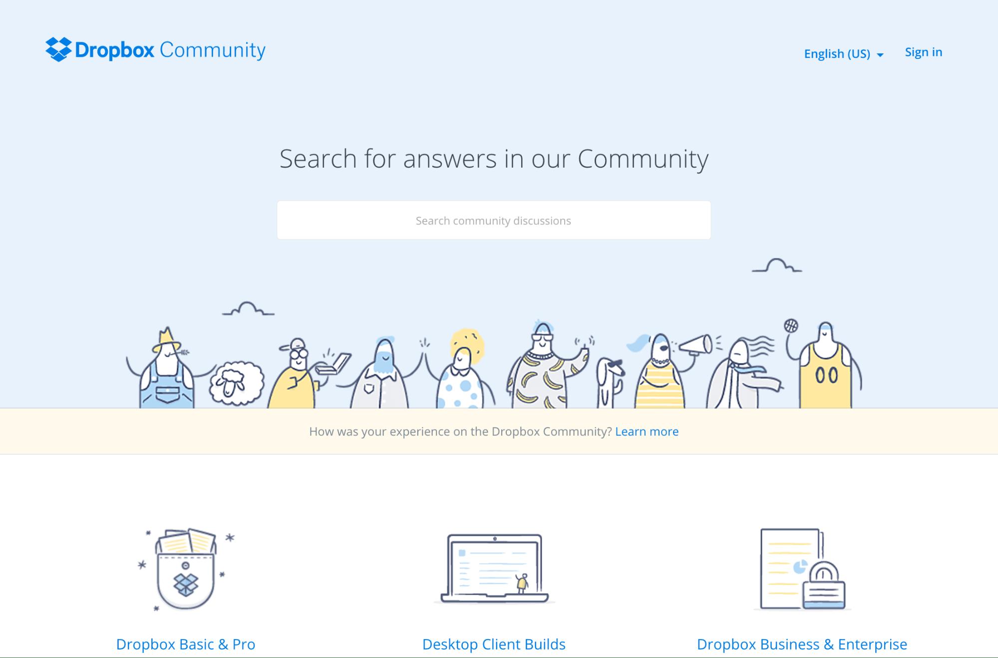 DropBox Community