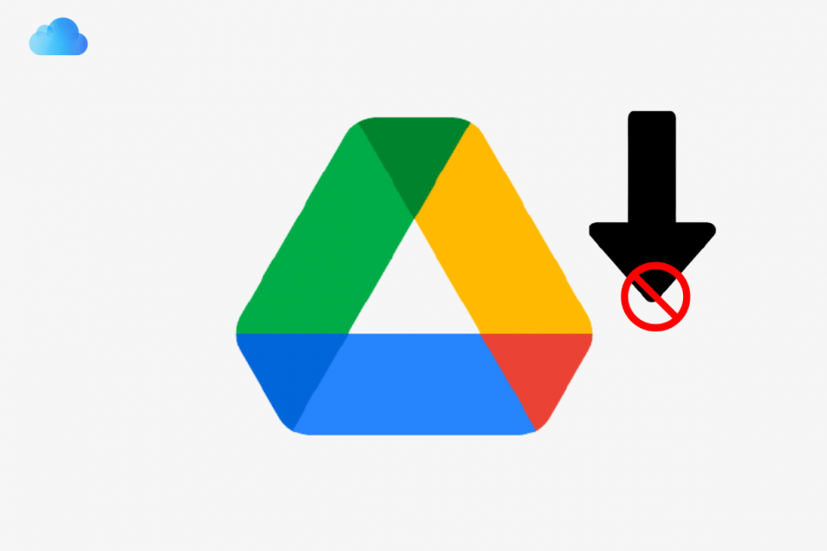 File Not Downloading Google Drive Desktop