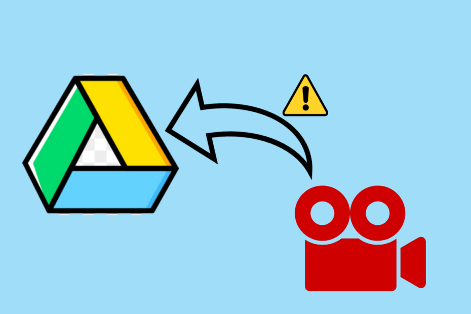 Fix Video Not Uploading to Google Drive