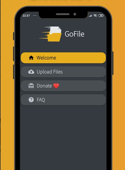 GoFile Android App