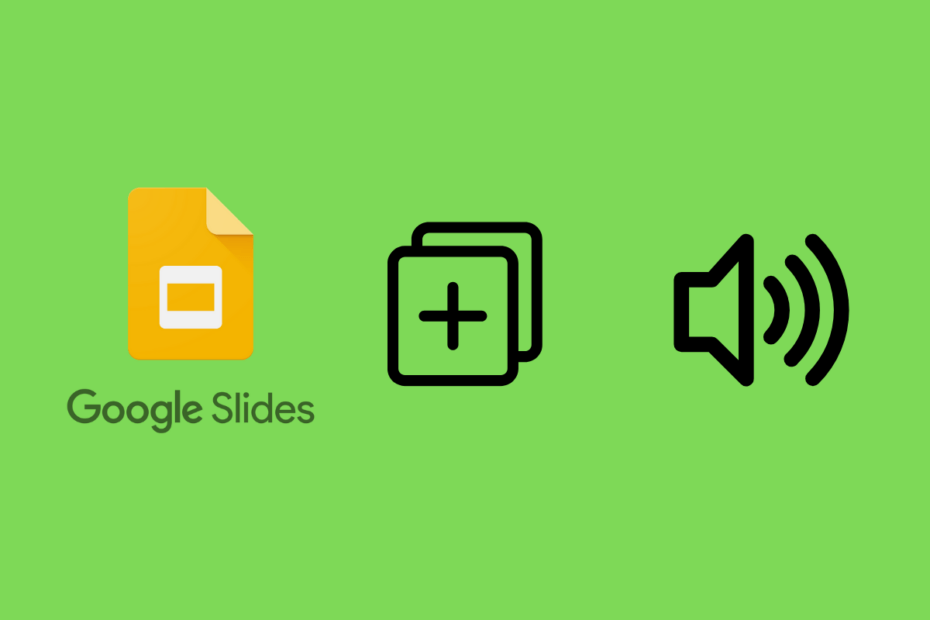 How to Add Audio File in Google Slides