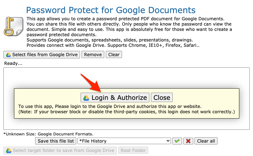 Login and Authorize