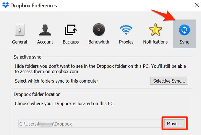 Move Folder Back to Original Location
