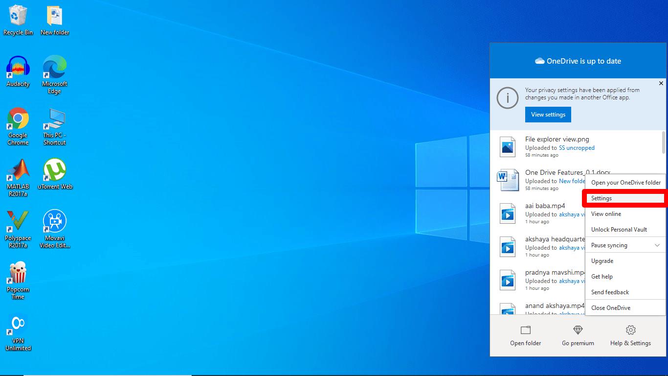 OneDrive Desktop