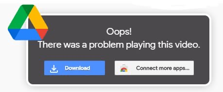 Oops! Whoops! There was a problem playing this video