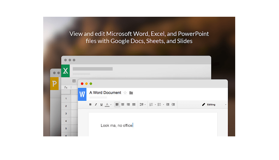 Open DOC Files in Chrome Browser