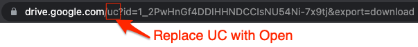Replace UC with Open