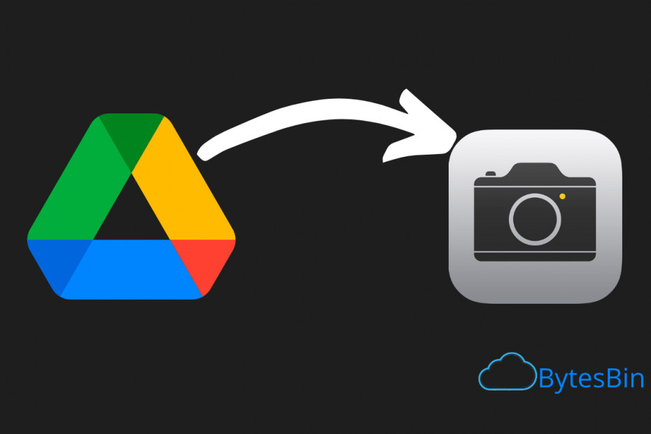 Save Google Drive Video to Camera Roll