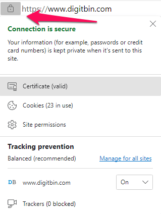 Secure SSL Connection