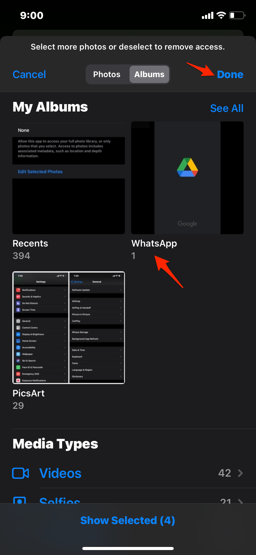 Select_WhatsApp_to_Backup_Photos