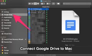 How to Sync Google Drive to MacBook?