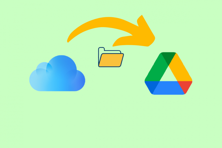 Transfer Folder File from iCloud Drive to Google Drive