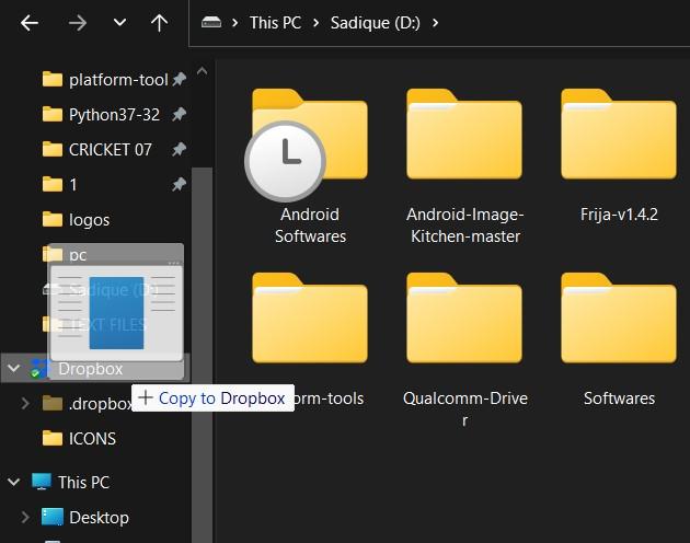 Try out Dropbox Desktop Client