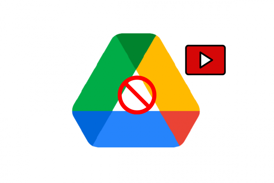 Video Cannot Be Played on Google Drive App Android