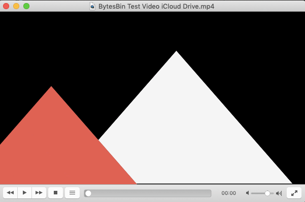 Video Playing in VLC