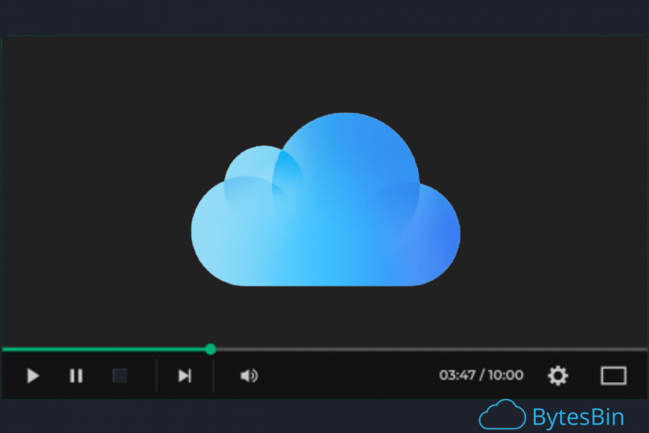 Watch iCloud Drive Videos without Downloading