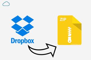 Fix the Dropbox ZIP file Too Large Download [5+ Methods]