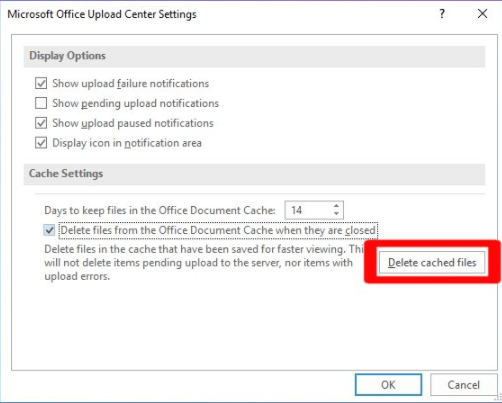 navigate to the settings, and then finally press the Delete Cached Files to delete its data